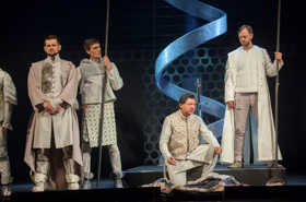 FALSTAFF AND  PRINCE OF WALES Playing Now at the Lenkom in Moscow