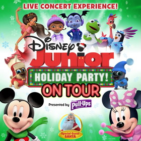 DISNEY JUNIOR HOLIDAY PARTY Comes to Hershey Theatre