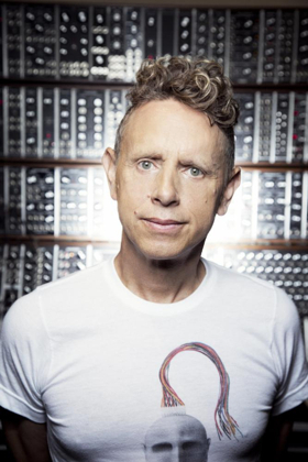 Martin Gore To Receive Moog Innovation Award at Moogfest