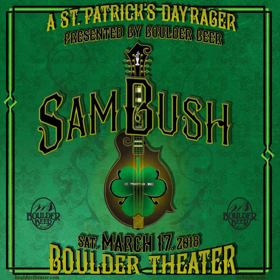 Sam Bush To Throw St Patrick S Day Rager At Boulder Theater