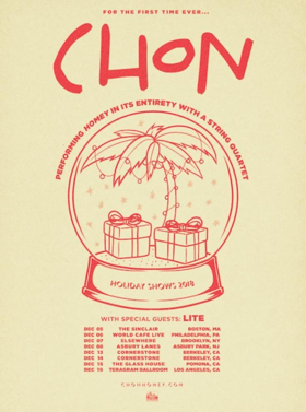 CHON Announces North American Holiday Shows