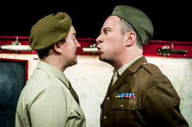 BWW Review: INSTRUCTIONS FOR AMERICAN SERVICEMEN IN BRITAIN is a Theatrical Treat