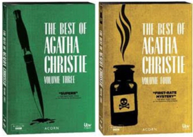 Acorn DVD to Release THE BEST OF AGATHA CHRISTIE Volumes 3 & 4 June 19
