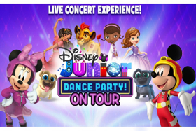 DISNEY JUNIOR DANCE PARTY Tour to Jam Out at The King Center This Spring