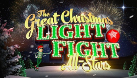 The Great Christmas Light Fight.Scoop Coming Up On The Great Christmas Light Fight On Abc