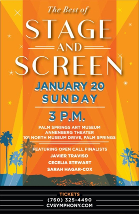 Coachella Valley Symphony Brings The BEST OF STAGE AND SCREEN To The McCallum