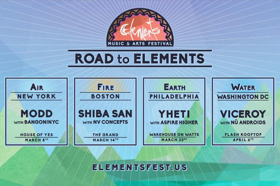 Elements Music & Arts Festival 2019 Announces 'Road to Elements' Pre-Parties