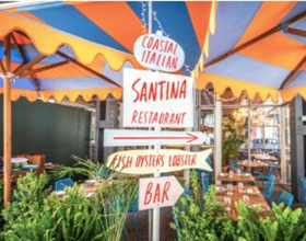 SANTINA by Major Food Group Announces New Dishes and Outdoor Patio Opening