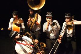Celebrate Mardi Gras with Brass Mafia at Feinstein's at the Nikko