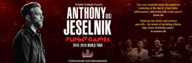 US Comedy Superstar Anthony Jeselnik Announces His Biggest Australian Tour Yet