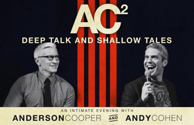 Anderson Cooper and Andy Cohen Return to the Dr. Phillips Center