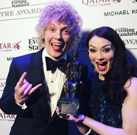 BAT OUT OF HELL, THE FERRYMAN, Andrew Garfield, Amber Riley & More Win Big at 2017 London Evening Standard Theatre Awards