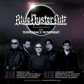 Blue Oyster Cult Announce UK Tour With The Temperance Movement