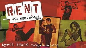 The Villages' Sharon L. Morse Performing Arts Center Announces RENT 20th Anniversary Tour