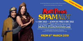 BWW REVIEW: The Marvellous Madness of Monty Python Comes To The Sydney Stage With SPAMALOT