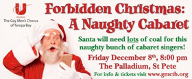 Una Voce to Present FORBIDDEN CHRISTMAS: A NAUGHTY CABARET at the Palladium