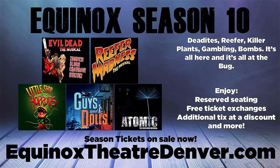 'EVIL DEAD', GUYS AND DOLLS, ATOMIC and More Set for Equinox Theatre's 10th Season