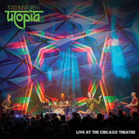 Todd Rundgren's Utopia 'Live At The Chicago Theatre' Blu-Ray/DVD/2 CD Set Available 4/5