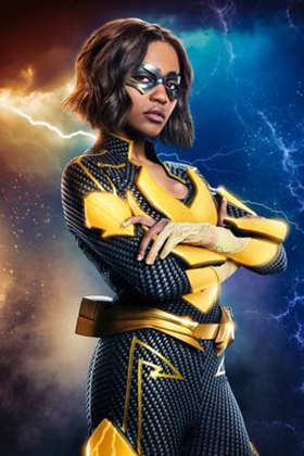 See a First Look of China Anne McClain as 'Lightning' on BLACK LIGHTNING