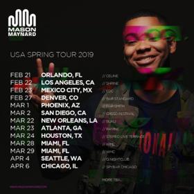 Mason Maynard Announces Debut US Tour Dates This Spring