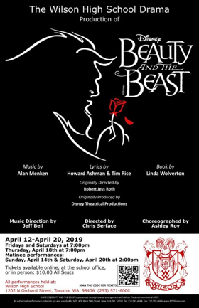 Wilson High School presents Disney's BEAUTY AND THE BEAST