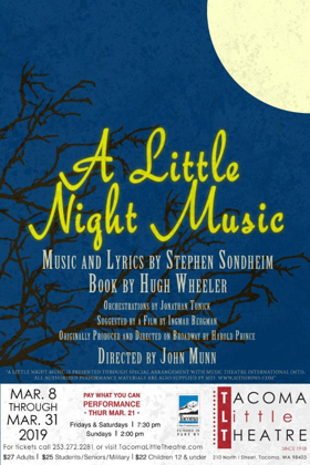 Tacoma Little Theatre Presents A LITTLE NIGHT MUSIC