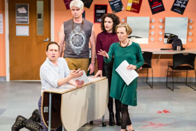 BWW Review: Good Intentions Lead You Know Where in Scathing Comedy THE THANKSGIVING PLAY, at Artists Rep