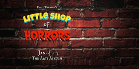 Faust Theatre Opens 2018 Season with LITTLE SHOP OF HORRORS
