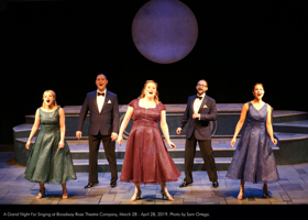 BWW Review: At Broadway Rose, It's A GRAND NIGHT FOR SINGING Indeed