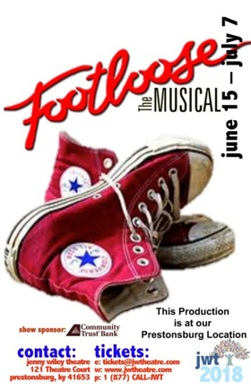 FOOTLOOSE THE MUSICAL Opens Tonight at Jenny Wiley Theatre