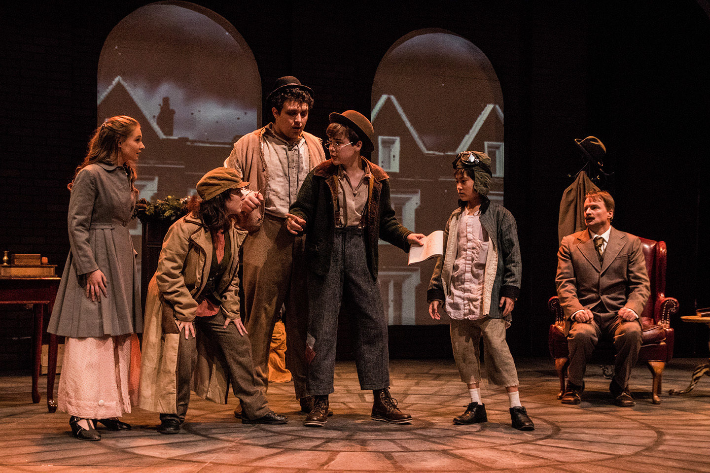 "BWW Review: ""The game's afoot"" as ""The Baker Street Irregulars"" snoop @ Dobama"