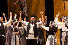 Joel Grey's Yiddish FIDDLER ON THE ROOF Eyes Broadway Transfer