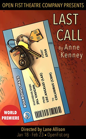 OUTLANDER's Anne Kenney Premieres LAST CALL at Open Fist
