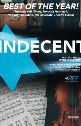 Kansas City Repertory Theatre Announces Regional Premiere Of INDECENT