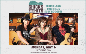 'Chicks with Hits Tour' Heads to First Interstate Center for the Arts