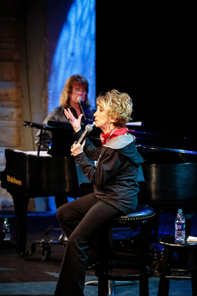 Grand Ole Opry Member, Jeannie Seely Enlightens Guests During Songwriter Session at The Country Music Hall of Fame(R) and Museum