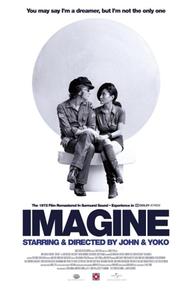 John Lennon and Yoko Ono's IMAGINE to be Restored and Remixed in Select Theaters This September