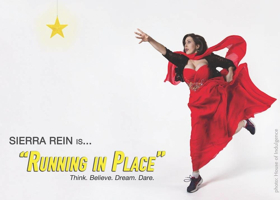 SIERRA REIN Reprises Hit Debut Solo Show RUNNING IN PLACE at Laurie Beechman Theatre, 9/22 & Today