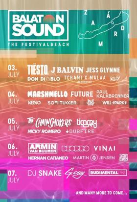 Jess Glynne, Rudimental, The Chainsmokers, G-Eazy Join Balaton Sound Festival Lineup