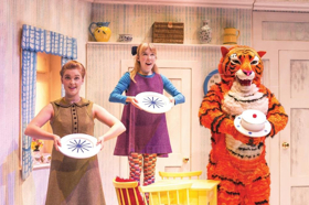 THE TIGER WHO CAME TO TEA Comes to The Point