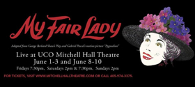BWW Previews: MY FAIR LADY at Mitchell Hall Theatre
