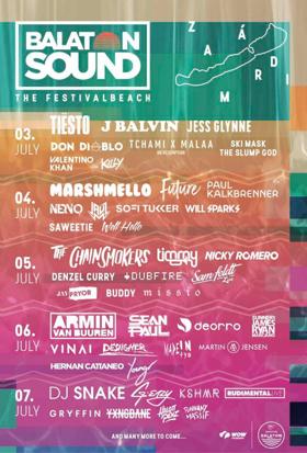 Sean Paul to Headline Balaton Sound Festival