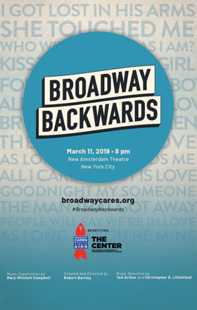 Additional Tickets Available Now for BC/EFA's BROADWAY BACKWARDS