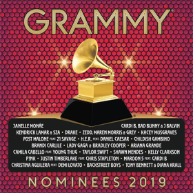 2019 GRAMMY Nominees Album Track Listing Revealed