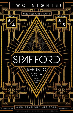 Spafford Announces Two Jazz Fest After Parties In New Orleans