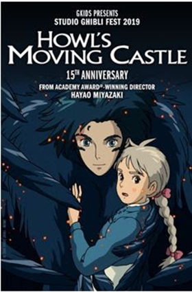 HOWL'S MOVING CASTLE 15th Anniversary Screenings Tickets are On Sale Now