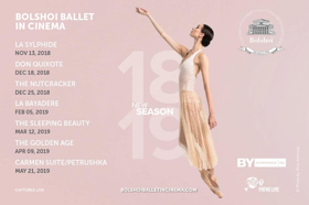 The Bolshoi in Cinema kicks off its season November 13 at the WYO