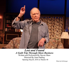 Review: LOST & FOUND: A GUILT TRIP THROUGH SHOW BUSINESS Shares Memories from the Show Business Career of Steven Shaw