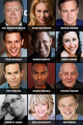 Joel McKinnon Miller, Chase Masterson, and More Cast in THE 24 HOUR PLAYS