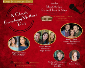 Cast Announced For Mother's Day Show At Rockwell
